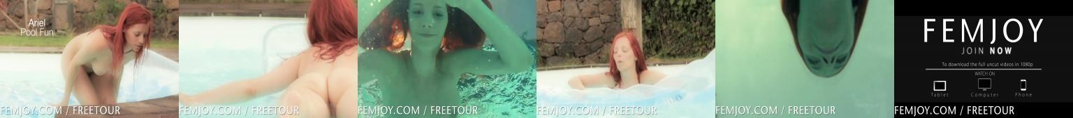 Piękne ciało na basenie