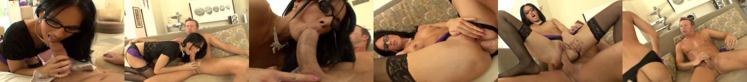 Okulary analne porno