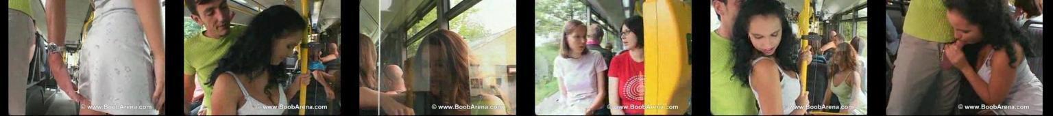 Publiczny seks w autobusie