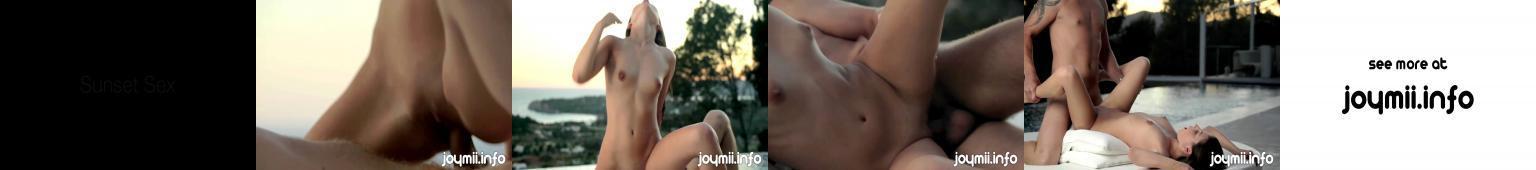 Romantyczny seks przy zachodzącym słońcu