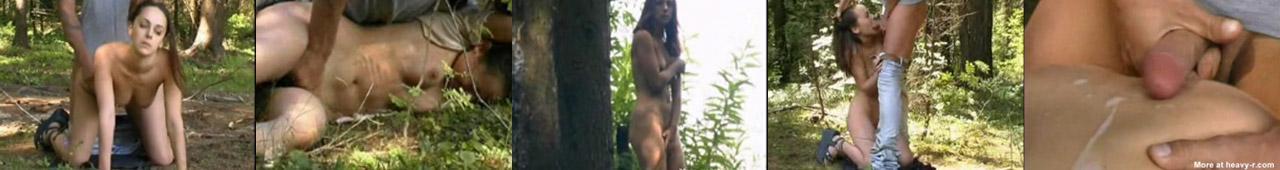 Małolata ścigana po lesie i zgwałcona