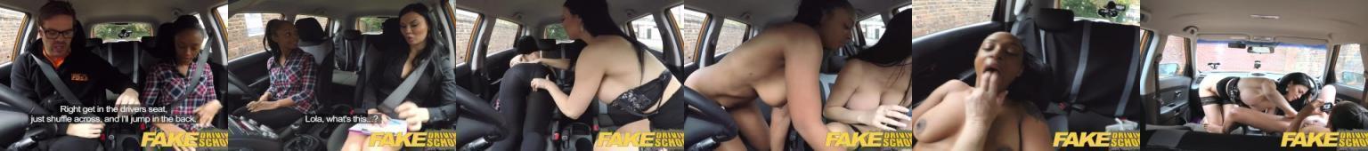 Lesbijska egzaminatorka prawa jazdy wykorzystuje swoją naiwą kursantkę