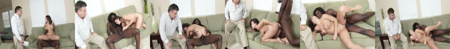 Natasha rucha się z Murzynem na oczach swojego ojca