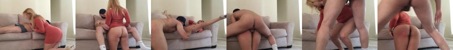 Brazylijski milf liże po tyłku i pierdoli się z chłopakiem