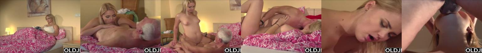 70-latek rucha słodką 19-latkę i spuszcza się do jej ust