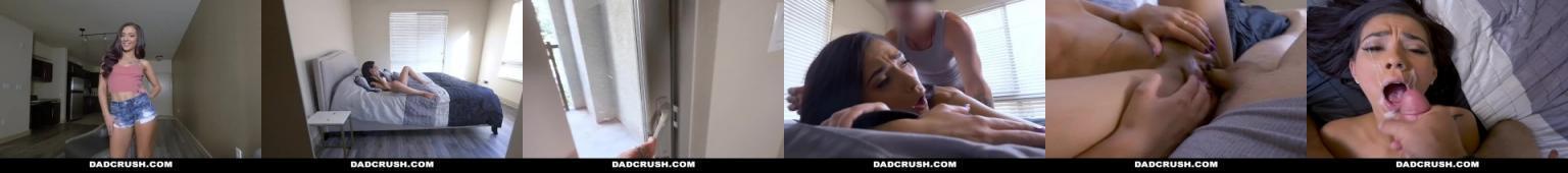 Zboczona nastolatka podrywa ojca