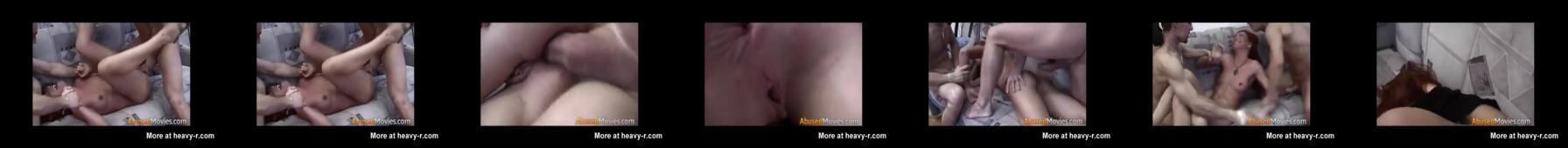 Analne gwałcenie rudej małolatki
