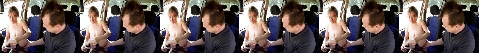 Sex na parkingu ze starą cycatą dziwką