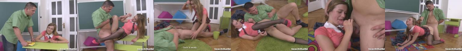 Młoda laseczka gwałcona przez złego nauczyciela