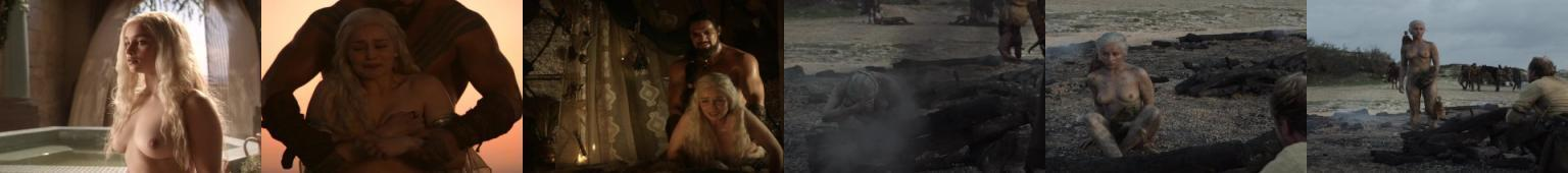 Emilia Clarke nago porno