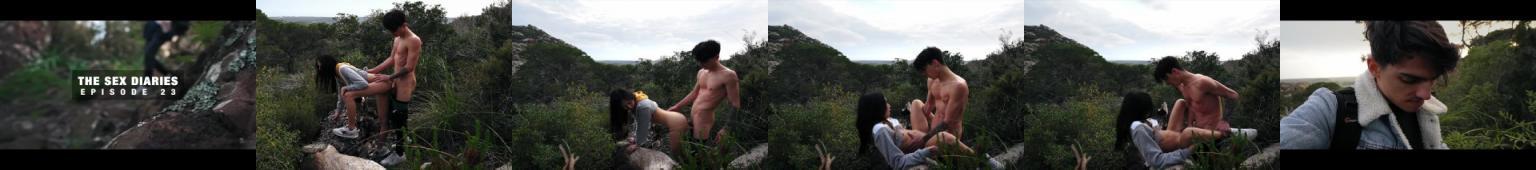 Seks podczas wyprawy w góry...
