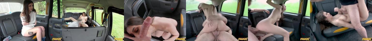 Jebanie ze starym kierowcą taxi. Fake taxi.