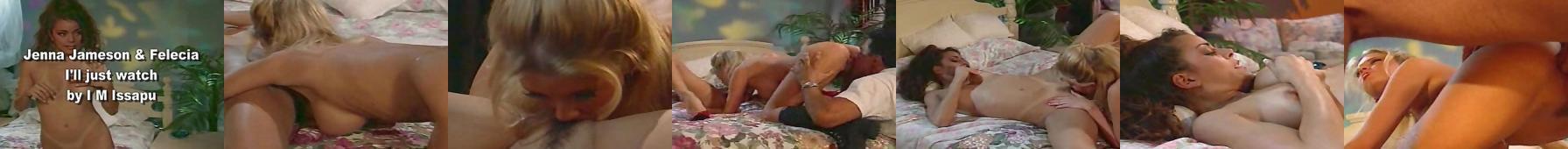 Jenna Jameson i Felicia Stripper trójkąt