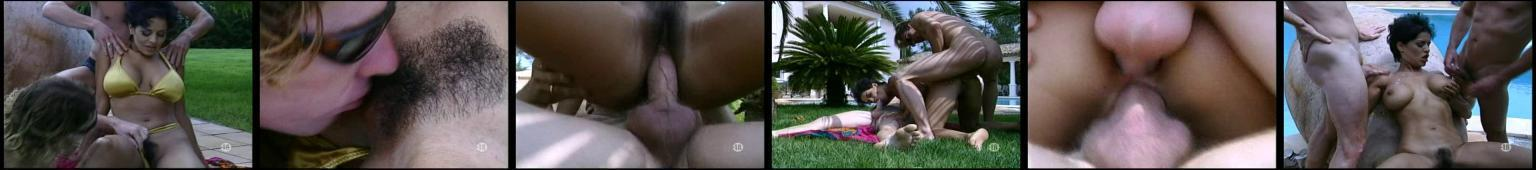 Dalila - podwójna penetracja na basenie