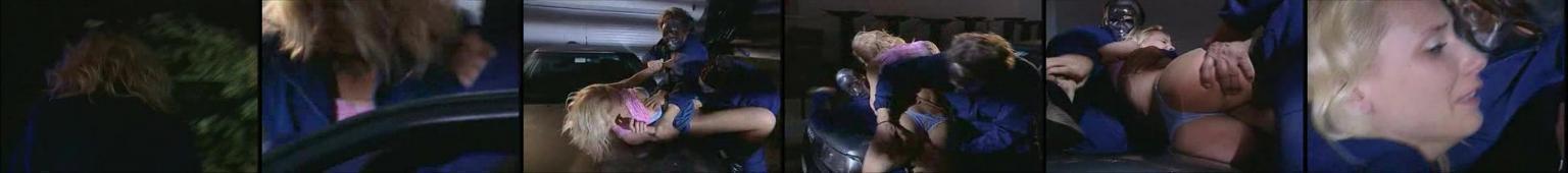 Blondynka gwałcona w podziemnym garażu